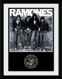 Ramones Album Reproduction encadrée pour collectionneurs