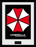 Resident Evil Umbrella Reproduction encadrée pour collectionneurs