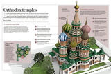 Infographic About Orthodox Temples (Cathedral of Saint Basil). Moscow, Built Between 1555 and 1561 Prints
