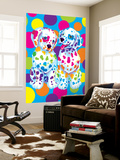 Spotty and Dotty Seinämaalaus tekijänä Lisa Frank