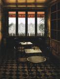 Interieur Bistrot a vin Prints by Andre Renoux
