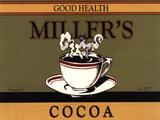Miller's Cocoa Plakat af Catherine Jones