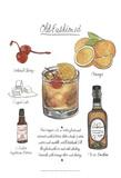 Classic Cocktail - Old Fashioned Kunstdruck von Naomi McCavitt