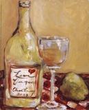 Picnic With Chardonnay Affiches par Nicole Etienne