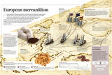 Infographic About European Mercantilism Developed from the Renaissance Based in Colonialism Posters