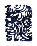 Indigo Swirls I Édition limitée par Jodi Fuchs
