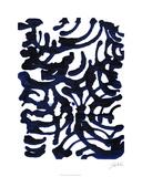 Indigo Swirls I 限定版アートプリント : ジョディ・フックス