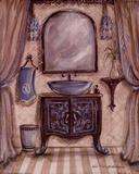 Charming Bathroom III Prints by Kate McRostie