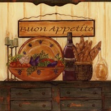 Buon Appetito Prints by Grace Pullen