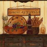 Buon Appetito Póster por Grace Pullen