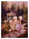 Angel Sisters Prints by Dona Gelsinger