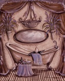 Charming Bathroom II Prints by Kate McRostie