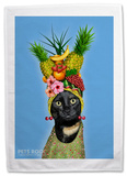 Pets Rock Fruit Tea Towel Novelty