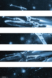Star Wars- T-65 X-Wing Panels Posters