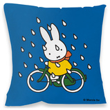 Miffy on Bicycle Cushion Pyntepute