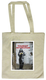 Tourist Information Tote Bag Handleveske