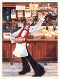 Whiskey Galore Poster by Charles Kinson