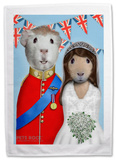 Pets Rock Mr & Mrs Tea Towel Novelty