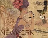 New York Plakater af Maria Woods