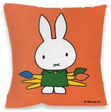 Miffy Paintbrushes Cushion Pyntepute