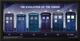 Doctor Who- Tardis Evolution Posters
