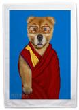 Pets Rock Tibet Tea Towel Novelty