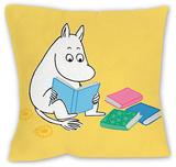 Moomintroll Reading a Book Cushion Pyntepute