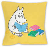 Moomintroll Reading a Book Cushion Cojín