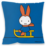 Miffy Sledding Cushion Pyntepute