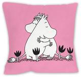 Pink Moomintroll and Snorkmaiden Cushion Cushion Pyntepute