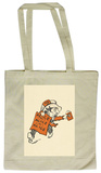 Alice in Wonderland - Mad Hatter Running Tote Bag Draagtas