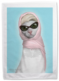 Pets Rock Princess Tea Towel Novelty