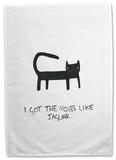 Doodles - Moves like Jaguar Tea Towel Regalos