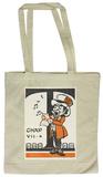 Alice in Wonderland - Mad Hatter Singing Tote Bag Sac cabas