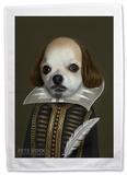 Pets Rock Shakespeare Tea Towel Regalos