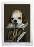 Pets Rock Shakespeare Tea Towel Novelty