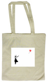 Heart Balloon Tote Bag Handleveske