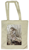Alice in Wonderland - Alice and the Pig Tote Bag Tragetasche