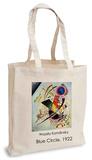 Wassily Kandinsky - Blue Circle, 1922 Tote Bag Sac cabas