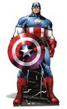 Marvel - Captain America Mini Cardboard Cutout Figura de cartón