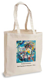 Wassily Kandinsky - Red Square in Moscow, 1916 Tote Bag Sac cabas