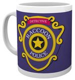 Resident Evil - Racoon Police Mug Tazza
