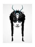 Wakeful Warrior Posters by Ruben Ireland