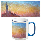 Claude Monet - San Giorgio Maggiore (Sunset in Venice) Mug Mug