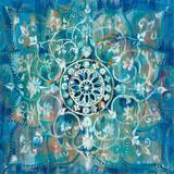 Mandala in Blue I Sq Affiches par Danhui Nai