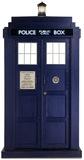 Doctor Who - Tardis Mini Cardboard Cutout Pappfiguren