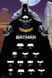 Batman- Logo Legacy Kunstdrucke