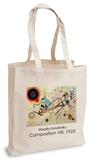 Wassily Kandinsky - Composition VIII, 1923 Tote Bag Borsa shopping