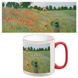 Claude Monet - Poppyfield Mug Mug