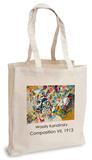 Wassily Kandinsky - Composition VII, 1913 Tote Bag Sac cabas